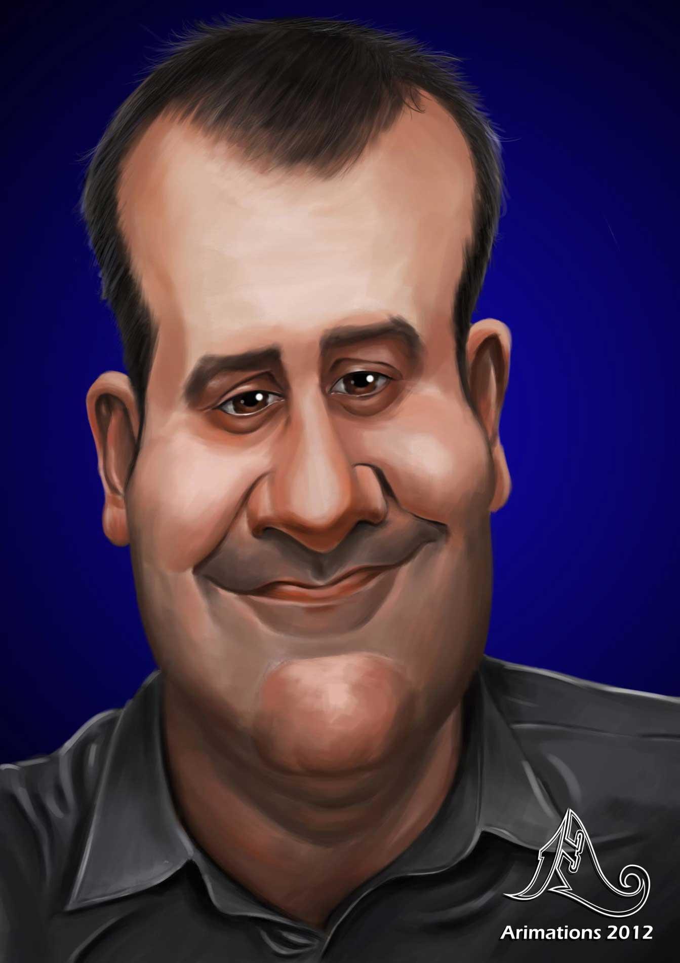 Caricatura Carlos