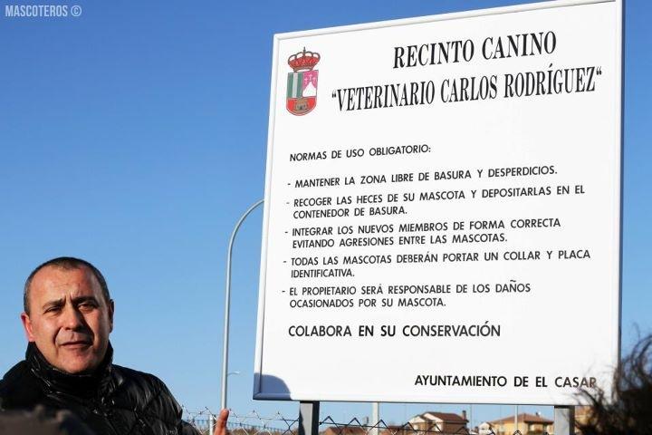 Veterinario. Inauguración recinto canino Carlos Rodríguez